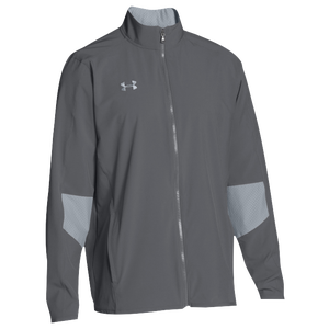 Under Armour Team Squad Woven Warm Up Jacket - Men's - Graphite/Steel