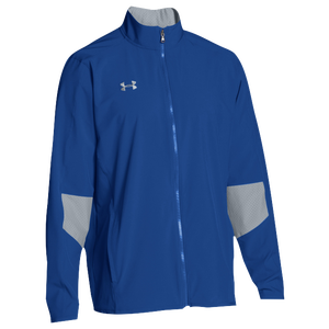 Under Armour Team Squad Woven Warm Up Jacket - Men's - Royal/Steel