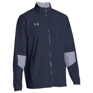 Under Armour Team Squad Woven Warm Up Jacket - Men's - Midnight Navy/Steel