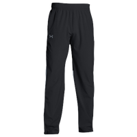 Under Armour Team Squad Woven Warm Up Pants - Men's - All Black / Black