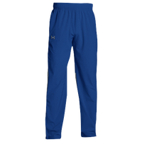 Under Armour Team Squad Woven Warm Up Pants - Men's - Blue / Blue