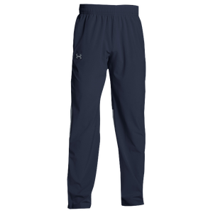 Under Armour Team Squad Woven Warm Up Pants - Men's - Midnight Navy/Steel