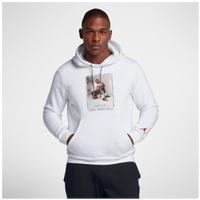 6d3bb2d371ff Jordan Retro 3 Flight Fleece Pullover Hoodie - Men s - White   Red