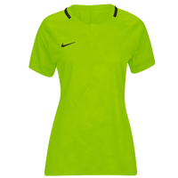 Nike Team Dry Challenge II Jersey - Women's - Light Green / Black