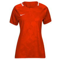 Nike Team Dry Challenge II Jersey - Women's - Orange / White