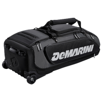 DeMarini Black OPS Wheeled Bag - Black / Grey