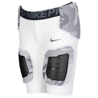 Nike Hyperstrong Hardplate Core Short - Camo - Boys' Grade School - White / Grey