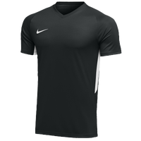 Nike Team Dry Tiempo Premier S/S Jersey - Men's - Black / White