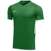 Nike Team Dry Tiempo Premier S/S Jersey - Men's - Green / White