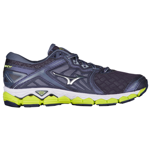 Mizuno Wave Sky Running Shoe(Men's) -Surf the Web/Silver Free Shipping Low Price Free Shipping Pictures The Cheapest Cheap Price ih8VjLAj7G