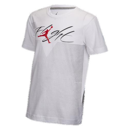 70021d4d872 Jordan Flight Diagonal T-Shirt - Boys' Grade School - Basketball ...