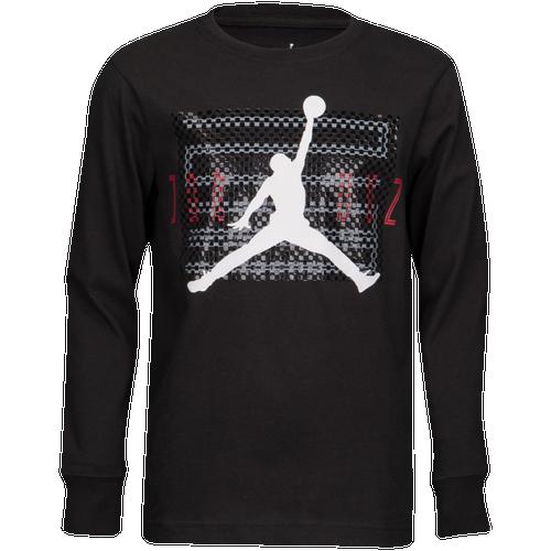 e72b70d96cc0 Jordan Retro 11 Long Sleeve T-Shirt - Boys' Grade School ...