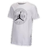 6b73de1a22120 Jordan Flight Above Stamp T-Shirt - Boys  Grade School - White   Black