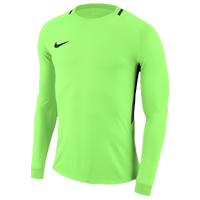 Nike Team L/S Park Goalie III Jersey - Men's - Light Green / Black