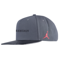 ba003715ee7 Jordan Retro 10 Jumpman Pro Cap - Grey   Black