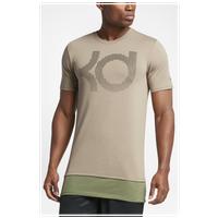 Nike KD Aunt Pearl T-Shirt - Men\u0027s - Kevin Durant - Tan / Olive