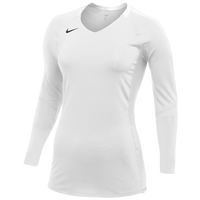 Nike Team Vapor Pro L/S Jersey - Women's - White / Black