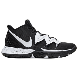 Nike Kyrie 5 - Men's - Irving, Kyrie - Black/White