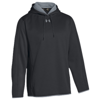 Under Armour Team Double Threat Fleece Hoodie - Men's - Black / Grey