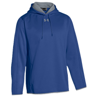 Under Armour Team Double Threat Fleece Hoodie - Men's - Blue / Grey