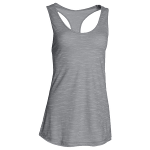 Under Armour Team Stadium Tank - Women's - True Grey Heather/Steel