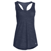 Under Armour Team Stadium Tank - Women's - Navy / Navy