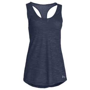 Under Armour Team Stadium Tank - Women's - Midnight Navy/Steel