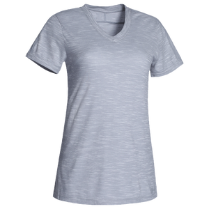 Under Armour Team Stadium Short Sleeve T-Shirt - Women's - True Grey Heather/Steel