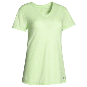 Under Armour Team Stadium Short Sleeve T-Shirt - Women's - Celise/Steel