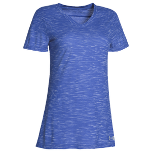 Under Armour Team Stadium Short Sleeve T-Shirt - Women's - Royal/Steel