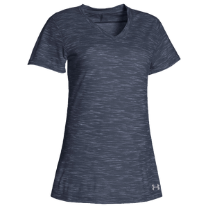 Under Armour Team Stadium Short Sleeve T-Shirt - Women's - Midnight Navy/Steel