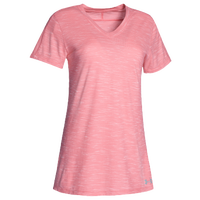 Under Armour Team Stadium Short Sleeve T-Shirt - Women's - Pink / Pink