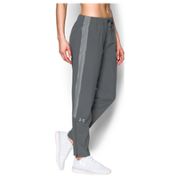 Under Armour Team Squad Woven Warm Up Pants - Women's - Grey / Grey