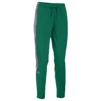 Under Armour Team Squad Woven Warm Up Pants - Women's - Dark Green / Grey