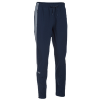 Under Armour Team Squad Woven Warm Up Pants - Women's - Navy / Grey