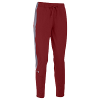 Under Armour Team Squad Woven Warm Up Pants - Women's - Red / Grey