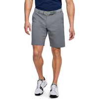 Under Armour Showdown Golf Shorts - Men's - Grey / Grey
