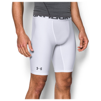 "Under Armour HG Armour 2.0 9"" Compression Shorts - Men's - White / Grey"