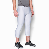 c6c8040bc0d81 Under Armour HG Armour 2.0 3/4 Compression Tights - Men's - White / Grey