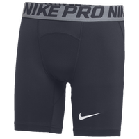 Nike Team Pro Shorts - Boys' Grade School - Grey