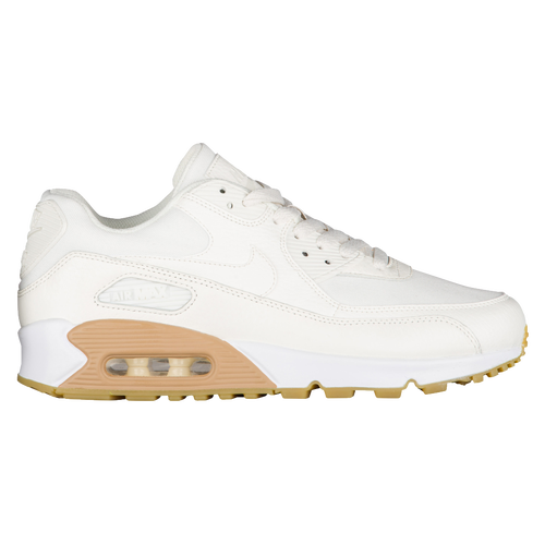 97427fa2aa23 Nike Air Max 90 - Women s - Casual - Shoes - Sail Sail Gum Lt Brown ...