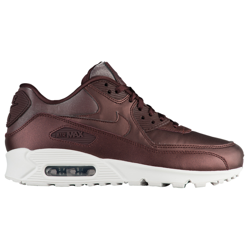 Nike Air Max 90 Leather in Iron Metallic and Red Bronze