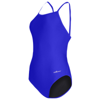Dolfin Team Solid V-2 Back Swimsuit - Women's - Blue