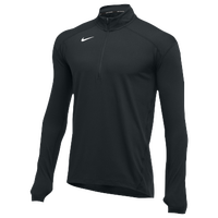 Nike Team Dry Element 1/2 Zip Top - Men's - All Black / Black