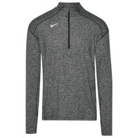 Nike Team Dry Element 1/2 Zip Top - Men's - Black / White