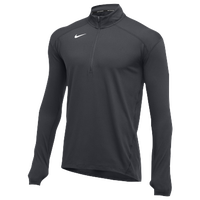 Nike Team Dry Element 1/2 Zip Top - Men's - Grey / Grey