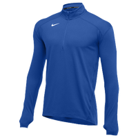 Nike Team Dry Element 1/2 Zip Top - Men's - Blue / Blue