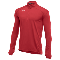 Nike Team Dry Element 1/2 Zip Top - Men's - Red / Red