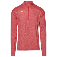 Nike Team Dry Element 1/2 Zip Top - Men's - Red / White