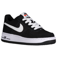 nike air force 1 black white low